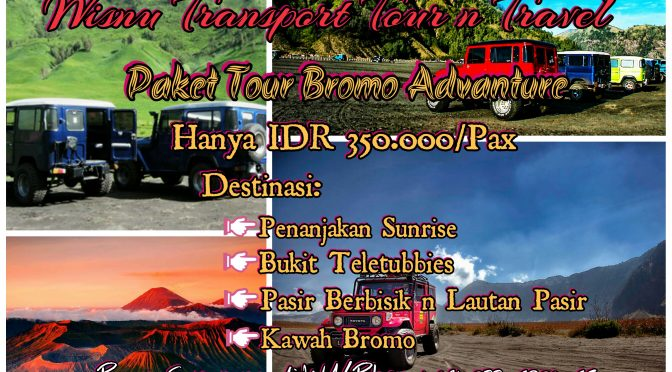Open Trip Bromo Adventure Tour, Open Trip Bromo Midnight Murah, 081 233 6920 65 WA-Phone-Line