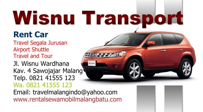 Harga Travel Update COVID 19, Travel Malang, WISNU TRANSPORT